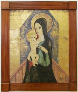 Foujita Madonna and Child 1973