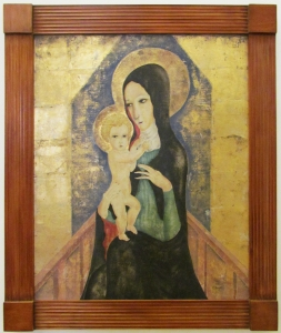 Foujita Madonna and Child 1973